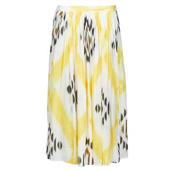 textil Dame Nederdele One Step JOSEPHINE Gul / Flerfarvet