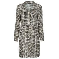 textil Dame Korte kjoler One Step RANDA Beige / Sort