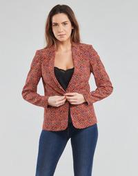 textil Dame Jakker / Blazere One Step VINNY Rød / Flerfarvet