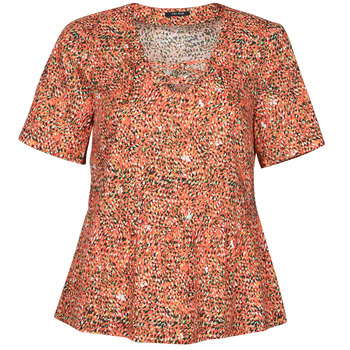 textil Dame Toppe / Bluser One Step CARA Rød / Flerfarvet