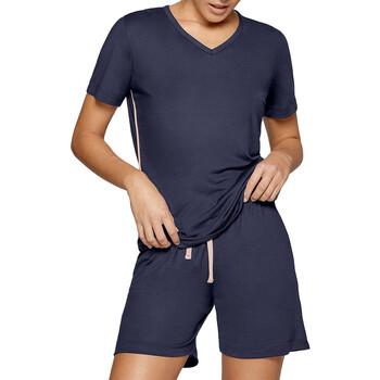textil Dame Pyjamas / Natskjorte Impetus Travel Woman 8400F84 F86 Blå