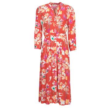 textil Dame Lange kjoler Rip Curl SUGAR BLOOM DRESS Rød
