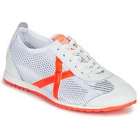 Sko Dame Lave sneakers Munich OSAKA 456 Hvid / Orange