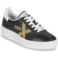 Sko Dame Lave sneakers Munich BARRU SKY 62 Sort / Guld