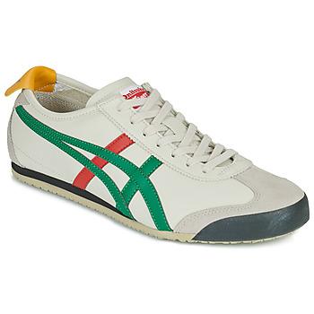Sko Lave sneakers Onitsuka Tiger MEXICO 66 Hvid / Grøn / Rød