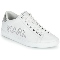 Sko Dame Lave sneakers Karl Lagerfeld KUPSOLE II KARL PUNKT LOGO LO Hvid