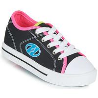 Sko Pige Sko med hjul Heelys CLASSIC X2 Sort / Pink / Blå