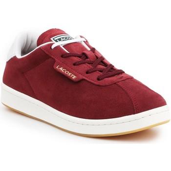 Sko Dame Lave sneakers Lacoste Masters 319 1 SFA 7-38SFA00032P8 burgundy