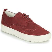 Sko Dame Lave sneakers Geox D BREEDA Bordeaux