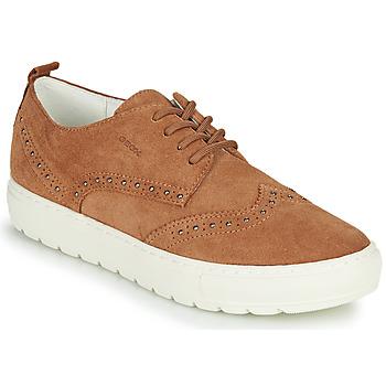 Sko Dame Lave sneakers Geox D BREEDA Brun