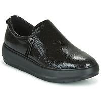 Sko Dame Lave sneakers Geox D KAULA Sort