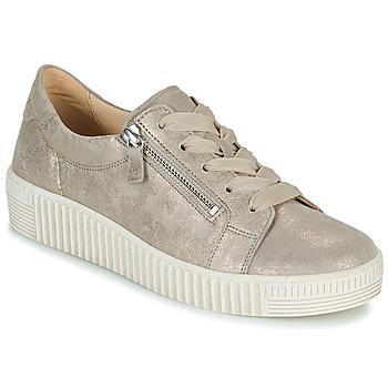 Sko Dame Lave sneakers Gabor 6333462 Beige / Guld