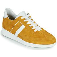 Sko Herre Lave sneakers Lloyd BURT Sennep