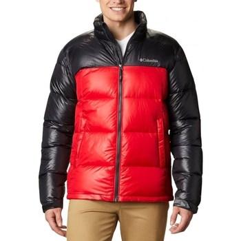 textil Herre Dynejakker Columbia Pike Lake Jacket Sort, Rød