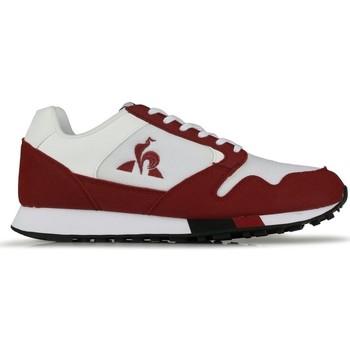 Sko Herre Lave sneakers Le Coq Sportif Baskets  Manta Retro blanc/rouge bordeaux/noir