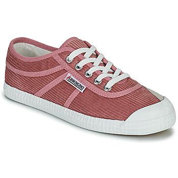 Sko Dame Lave sneakers Kawasaki CORDUROY Pink