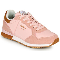 Sko Dame Lave sneakers Pepe jeans ARCHIE BLOCK Pink