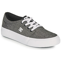 Sko Dreng Skatesko DC Shoes TRASE B SHOE XSKS Grå