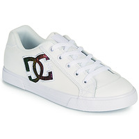Sko Dame Skatesko DC Shoes CHELSEA J Hvid / Pink