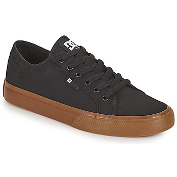 Sko Herre Skatesko DC Shoes MANUAL Sort / Gummi