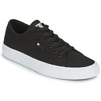 Sko Herre Skatesko DC Shoes MANUAL Sort / Hvid