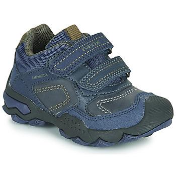 Sko Dreng Lave sneakers Geox J BULLER BOY B ABX Blå