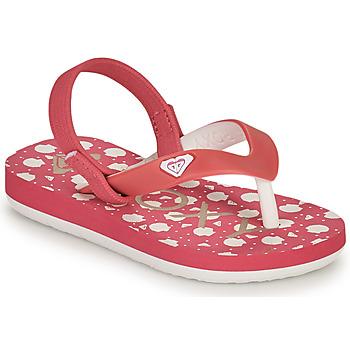 Sko Pige Klipklapper  Roxy TW TAHITI VI Pink