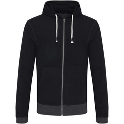 textil Herre Sweatshirts Ecologie EA051 Black/Charcoal
