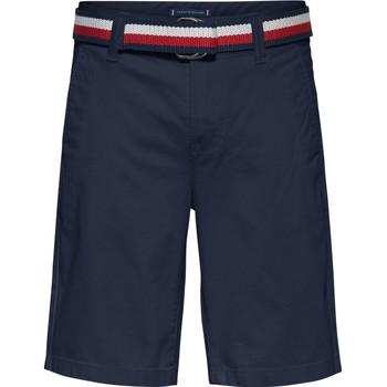 textil Dreng Shorts Tommy Hilfiger SORTA Marineblå