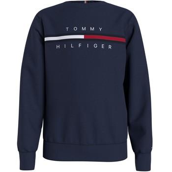 textil Dreng Sweatshirts Tommy Hilfiger KB0KB06568-C87 Marineblå
