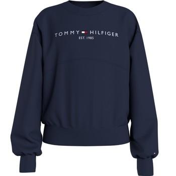 textil Pige Sweatshirts Tommy Hilfiger KG0KG05764-C87 Marineblå