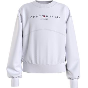 textil Pige Sweatshirts Tommy Hilfiger THUBOR Hvid
