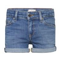 textil Pige Shorts Tommy Hilfiger KG0KG05773-1A4 Blå