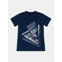 textil Dreng T-shirts m. korte ærmer Guess L1RI15-K8GA0-F233 Blå