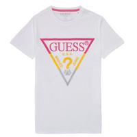 textil Dreng T-shirts m. korte ærmer Guess H1RJ05-K8HM0-P66P Hvid