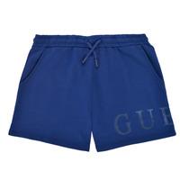 textil Pige Shorts Guess J1GD00-KAN00-PSBL Marineblå
