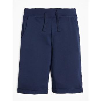 textil Dreng Shorts Guess L93Q25-K5WK0-C765 Marineblå