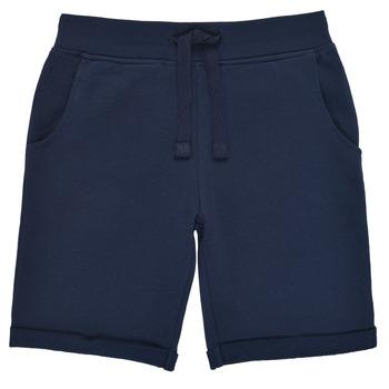 textil Dreng Shorts Guess N93Q18-K5WK0-C765 Marineblå