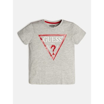 textil Dreng T-shirts m. korte ærmer Guess L73I55-K5M20-M90 Grå
