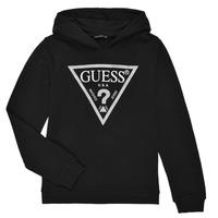 textil Pige Sweatshirts Guess J83Q14-K5WK0-A996 Sort