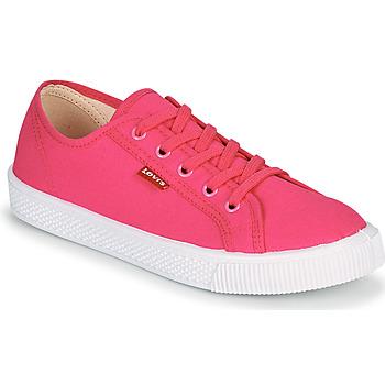 Sko Dame Lave sneakers Levi's MALIBU BEACH S Pink