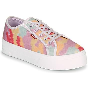 Sko Dame Lave sneakers Levi's TIJUANA Flerfarvet