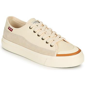 Sko Dame Lave sneakers Levi's SQUARE LOW S Hvid