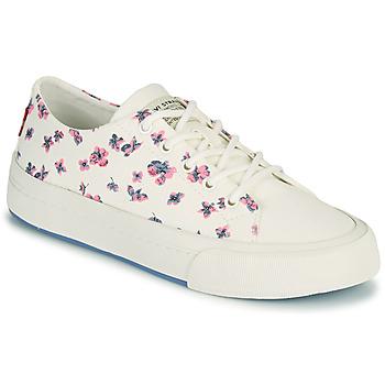 Sko Dame Lave sneakers Levi's SUMMIT LOW S Hvid