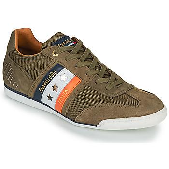 Sko Herre Lave sneakers Pantofola d'Oro IMOLA CANVAS UOMO LOW Kaki