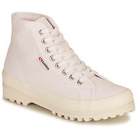 Sko Dame Høje sneakers Superga 2341 ALPINA COTU Hvid