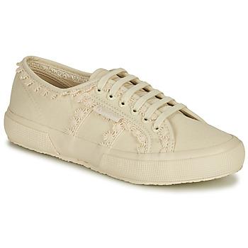 Sko Dame Lave sneakers Superga 2750 COTW LACEPIPING Beige