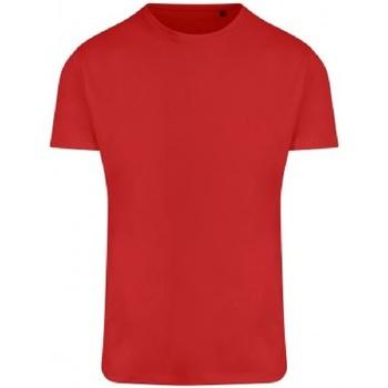 textil Herre T-shirts m. korte ærmer Ecologie EA004 Fire Red