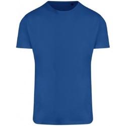 textil Herre T-shirts m. korte ærmer Ecologie EA004 Royal Blue