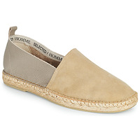 Sko Herre Espadriller Selected AJO NEW MIX Sand